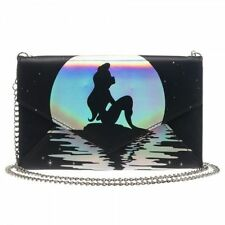 Disney Ariel Iridescent Envelope Wallet with Chain FREE SHIPPING