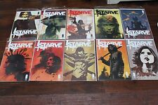 STARVE #1-10 Complete Lot Set Run Series VF (Image 2015) Brian Wood