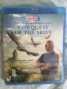 David Attenborough's Conquest of the Skies 3D Blu-ray Region B As New Free Post