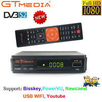 FTA Satellite Receiver GTMEDIA V7S Digital Full HD 1080P Digital Receptor Youtub