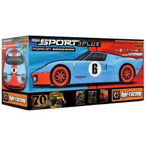 HPI Racing 120098 RS4 Sport 3 Flux Ford GT Heritage Edition