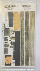 * BILT EEZI F6 Stone Walls, Gates, Fences etc 2 mm scale Model N Gauge Card Kit
