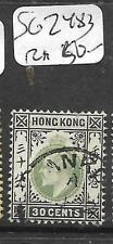 HONG KONG TREATY PORT (P0402B) HANKOW KE 30C SG Z483   CDS VFU