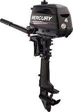 """Mercury 4 HP 4 Stroke Outboard Motor 1F04201EK Manual Start Tiller Handle 15"""""""