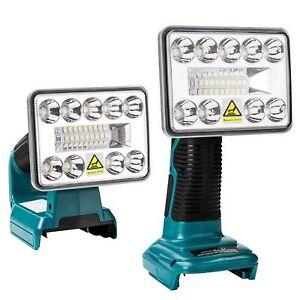 LED Arbeitsleuchte Taschenlampe Strahler für Makita BL1430 BL1830 18V / 14.4V