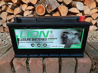 NEW LION 110AH LOW BOX Leisure Battery Low Height TRADE IN YOUR OLD BATTERY