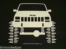 Jeep Cherokee XJ sport_ Rock Crawler_ Sticker/Decal -07