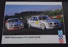 Aufkleber BMW MOTORSPORT STW-Cup 1998 Schnitzer 320i E36 Sticker