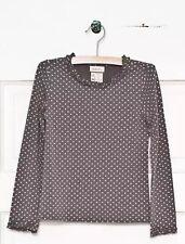 New Matilda Jane Secret Fields Connect The Dots Layering Tee Dots 10 Tween NWT