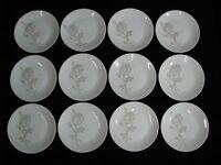 "Set of 12 Rosenthal ""Classic Rose"" Salad/Desert Plates 7 1/2"" Mid-Century Mint"
