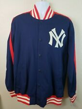 Official MLB New York Yankees Blue Jacket GIII Sports by Carl Banks Size Large