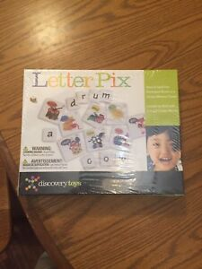 Discovery Toys Letter Pix Game Sealed!