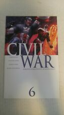 Civil War #6 December 2006 Marvel Comics Millar Mcniven Vines Hollowell