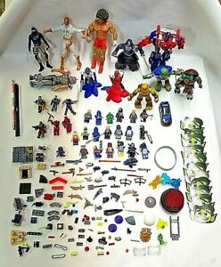 TV Movie Comics Superheros Action Figures with Accessories & Stickers