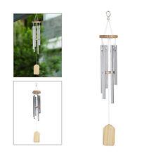 6 Tube Wind Chimes Resonant Bells Outdoor Living Yard Garden Decoration