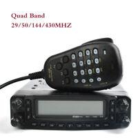 US TC-8900R 29/50/144/430Mhz 50Watt Quad Band Transceiver Mobile Car Ham Radio