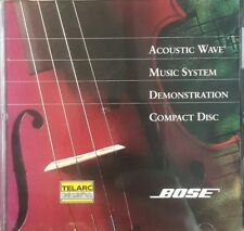 Bose Acoustic Wave Music System Demonstration 1993 Demo CD-Disc Only VERY RARE
