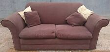 Sweet Dreams Two Seater Sofa Bed, brown fabric
