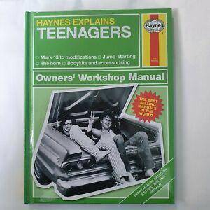 Haynes Explains Teenagers Hardback Mini Manual Book