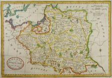 POLEN OSTPREUßEN LITAUEN KARTE BALDWYN 1794 POLAND POLSKA LITHUANIA MAP