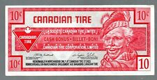 CANADA 1996 CANADIAN TIRE MONEY, NOTE OF 10c CIRCULATED COND.