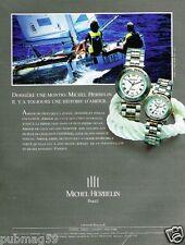 Publicité advertising 1991 Les Montres Michel Herbelin