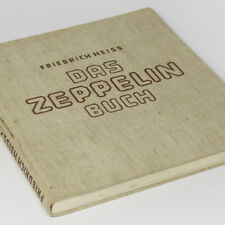 German ZEPPELIN Airship Book 30s w/512 photos LZ127 Graf LZ129 Hindenburg Blimp