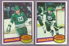1980-81 OPC O-PEE-CHEE Hartford Whalers Team Set