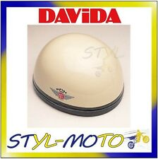 60513 CASCO DAVIDA 60-CLASSIC COMPLEX CREAM/BROWN LEATHER TAGLIA L