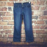 Old Navy The Flirt Womens Jeans Size 6 Straight Leg 33 Inseam