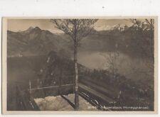 Buergenstock Honeggkanzeli Switzerland Vintage RP Postcard 381b
