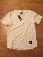 Adidas Men's Tactic Tee White Size M Yeezy Boost
