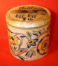 """""""Bahlsen Eff-Eff 1 Pfund"""" Schriftzug in """"Blau"""" ab 1912=Historische Pappschachtel"""
