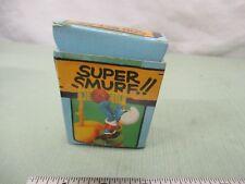 Super Smurf Figure box Vintage Toy Schleich Volleyball Sport 6728 Peyo Berrie Co