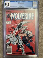 WOLVERINE #2 CGC NM+ , MCU? Claremont Story & Back Cover Pin-up