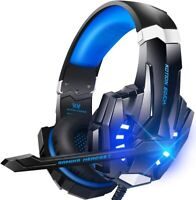 Gaming Headset with Mic, PS4, PC, Xbox One Controller Laptop Mac Nintendo Switch