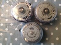 Job Lot Sangamo Timer Switch Controllers Three Ex Specialist Clock Collector