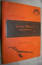 John Deere: Blacksmith Boy (Childhood of Famous Americans) by Margaret Bare 1964