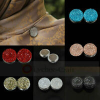 Magnetic Hijab Brooch Pin Headscarf Abaya Clasp Shawl Badge Scarf Pin Fashion