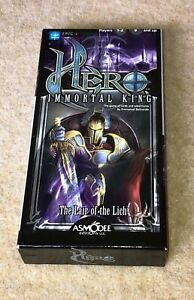 Hero: Immortal King – Lair of the Lich, Excellent condition, Complete, Asmodee