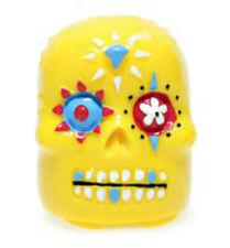 NEW Yellow Sugar Skull Lip Balm - Pineapple Flavored