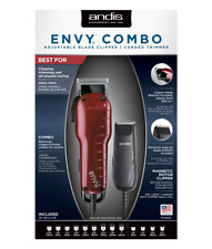 Andis 74020 Professional Envy Combo Hair Clipper + CTX Trimmer Haircut Kit NEW