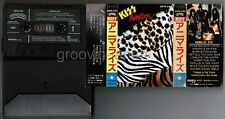 KISS Animalize JAPAN CASSETTE TAPE w/PICTURE SLEEVE 28YA-250 No Insert Free S&H