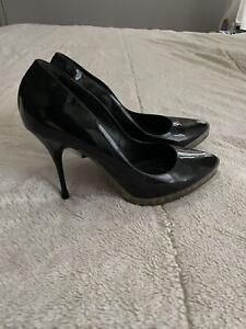 Black Patent Rochas Shoes 40 9
