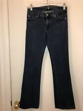 Ladies Seven For All Mankind Boot Cut Jeans Size 26 X 28