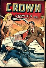 Crown Comics #1 Golden Age McCombs 2.0