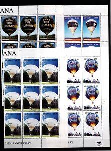 // 9X GUYANA 1996 - MNH - AIR BALLOONS - AVIATION - GREENPEACE