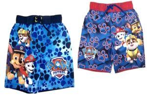 Paw Patrol Little Boy's Swim Trunks  UPF 50+  NWT Size 4 or 5