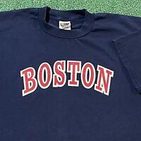 Boston Red Sox T Shirt Mens XL Adult Blue Yankees Suck MLB Baseball Funny USA