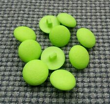 10 x Lime Green 11mm Vintage Buttons Jumper Cardigan Crafts Children's Clothes